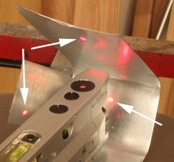 40 6184 Three Beam Magnetic Torpedo Laser Level Laser