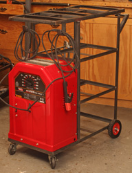 ac 225 lincoln welder. I Added A Welding Rod Rack (left) On The Back End Of Cart To Keep My Supply Rods Close By. Set Lincoln AC-225 Welder In Place Be Ac 225 5